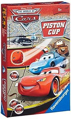 Ravensburger - 23274 - Jeu de société - Jeux de voyage - Cars Piston cup - Mini jeu