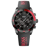 Reloj Hugo Boss 1512901 de cuarzo para hombre con correa de silicona, color negro de Boss