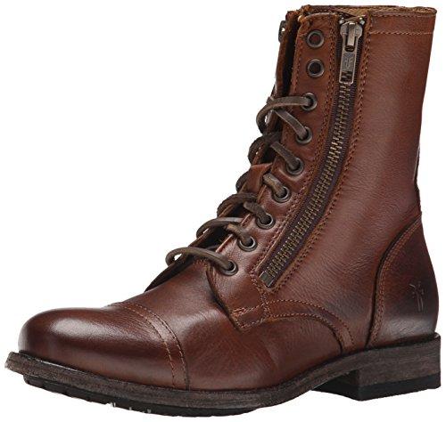 frye-tyler-double-bottes-rangers-femme-marron-cognac-38-eu
