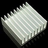 Kühlkörper aus Aluminium mit Wandtattoo–30x 30mm