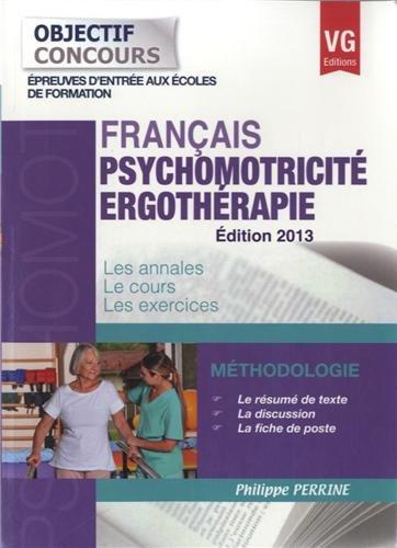 Ergothérapie - Psychomotricité : Français