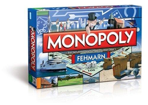 Preisvergleich Produktbild 41962 - Winning Moves - Monopoly Städte Edition: Fehmarn