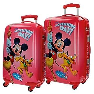 Disney Adventure Day Equipaje Infantil, 86 Litros, Color Rojo