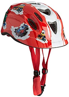 Apex Boy's C250 Helmet - Transport Red, 52