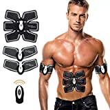 Carer EMS Muscle Stimulator,Abdominal Toning Belt ,Muscle Toner Abs Trainer Body Fitness Training Slimming Machine, Home Gym Exercise Equipment For Men Women