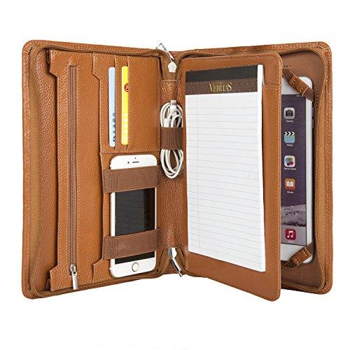 Preisvergleich Produktbild Coface Professionelle Business-Padfolio Organizer für ipad mini und Samsung Galaxy Tab S2 8,0, Junior Legal (A5) Papier (Samsung Note 8.0)
