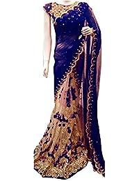 Vinayak Textiles Bhagalpuri Silk Saree With Blouse Piece (Vtgtnct108_Multi- Colored_Free Size)