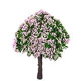 Naisicatar 2 PCS Planta del árbol Miniatura Hada del jardín en Miniatura Dollhouse Micro Paisaje DIY de la decoración del jardín de Juguete Interesante