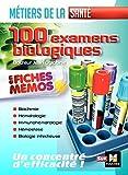 Les 100 Examens de biologie ESI-IDE - Métiers de la santé...