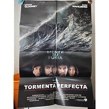 Original Spanish Movie Poster The Perfect Storm La Tormenta Perfecta George Clooney Diane Lane Wahlberg