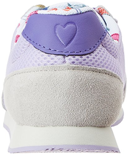 Desigual Damen Primavera Sneaker Lila