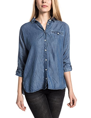 Timezone Katrintz, Blouse Femme Bleu - Blau (party night blue 3990)