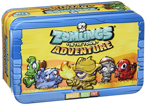 1 x Zomlings avventura Collezionisti Tin - MBX003664 -. Magic Box Int