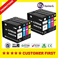 Ink Cartridges - Compatible for PGI-2700 PGI2700 ink cartridge suit for MAXIFY IB4070 iB4170 MB5070 MB5170 MB5370 MB5470 etc. (2Sets)