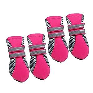 Sharplace Bottes Hydrofuge Anti-dérapant Chaussures Chaussette Protection pour Chiot Chien Maison