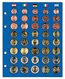 Ergänzungsblatt für Münzenalbum Topset, für 5 Euro-Sätze