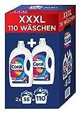 Coral flüssig Color+ Vollwaschmittel 110 WL, 3960 gm