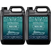 Dirtbusters - Limpiador de cera y de cera con carnaúba para barcos ...