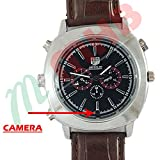 M MHB SPY Still Wrist Watch Camera with Inbuild 16GB Memory and Hidden