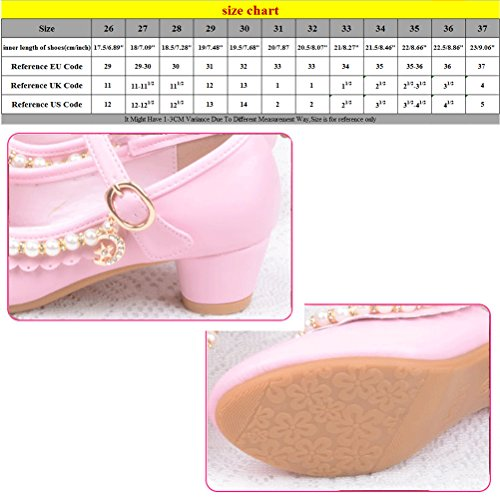 Zhuhaitf Excellent Girls Fashion High Heels Kids Ballet Princess Shoes Children's Gifts J-777 pink