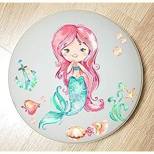 Deckenleuchte/Wandlampe * Meerjungfrau Mermaid 3 * auch LED – mit/ohne Name
