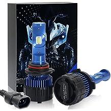 Win Power-Coche 9005(HB3) LED Bulbos del Faro - 8000LM 6000 K no error Extra Brillante Super Blanco-12V Car bombillas led headlight-2 piezas