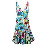 Ralph Lauren D5218 Vestito Donna Abito Fiori Multicolor Dress Woman [6/40]