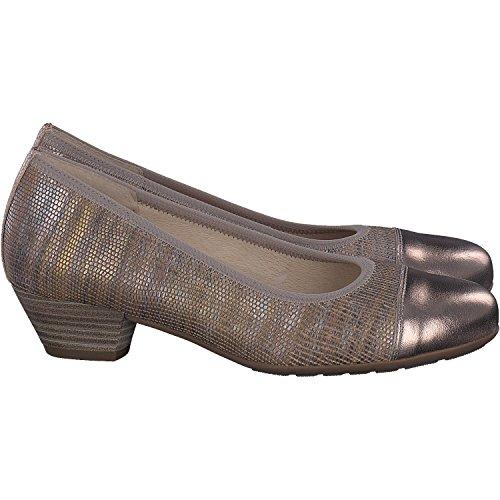 Gabor 86.131.18, Chaussures À Talons Hauts Beiges Pour Femmes