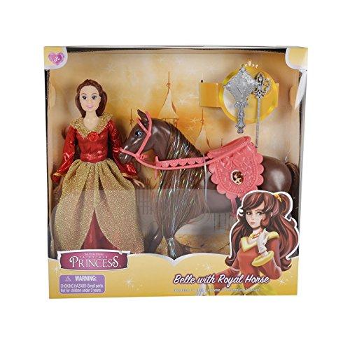Die Toon Studio Märchen Prinzessin Belle mit Königlichem -