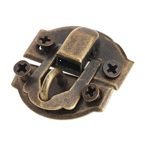 "Lista del paquete:   10 * Latch 40 * tornillos de bronce (8 x 2,5 mm / 0.31x0.1 "")"