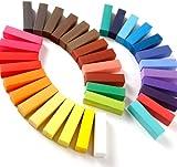 DIY Hair Chalk, Moon mood® 36 Color Hair Chalk Temporary Hair Color Pastel Hair Dye Set Non-toxic