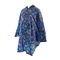 Echo chic Butterfly fold up Poncho (BLUE)
