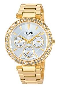 Pulsar - PP6160X1 - Montre Femme - Quartz - Analogique - Bracelet Acier Inoxydable Doré