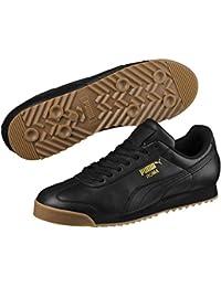 Puma Unisex's Roma Classic Gum Leather Sneakers