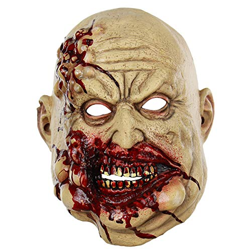 BESTOYARD Halloween Blutige Maske Party Cosplay Gruselige Erschreckende Requisiten