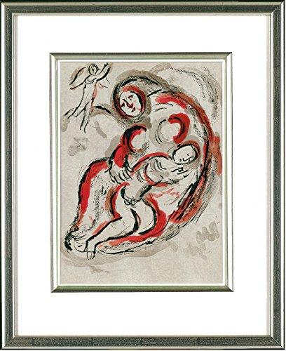 Marc Chagall (1887-1985), Original Lithographie: Hagar in der Wüste, 1960