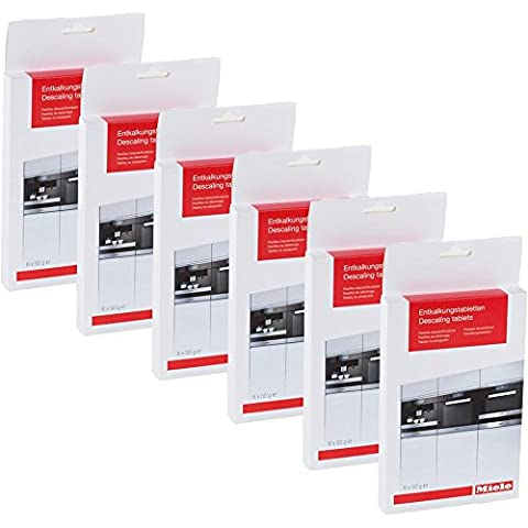 Miele Entkalkungstabletten 10178330 6x50g (6er Pack)