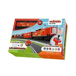 """51GtgPwcfUL. SS300  - Spielzeugeisenbahn Märklin my world 29340 - Startpackung """"Feuerwehr"""" (Akku), Modelleisenbahn Spur H0 Startset"""