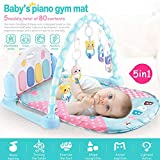 Bebé recién nacido Play music Mat Baby Rattle Fitness Rack Juego de música multifuncional Manta de juguete para niños recién nacidos