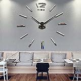 Wanduhr Dekoration Uhr Große Wanduhr DIY 3D Modern Clock Wandaufkleber Raum Home Dekorationen Tolles Geschenk