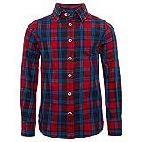 TOM TAILOR für Babies, für Jungen Blusen, Shirts & Hemden Kariertes Hemd Bright Cherry red, 116/122