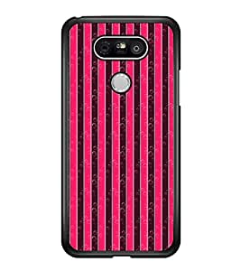Vizagbeats Bubble Stripes Back Case Cover for LG G5
