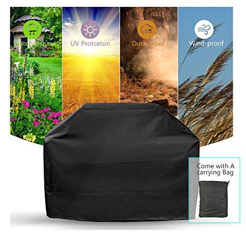 PUDDINGHH® Funda para Barbacoa Impermeable Funda De Protector para Barbacoa Barbacoa Cubierta Impermeable,190X71X117CM...
