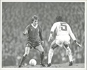 Vintage photo of European Cup Final Liverpool 5 CSKA Sofia 1: Kenny Dalglish (Liverpool)