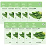 The Faceshop Real Nature Face Mask, Aloe, 20g (Pack of 10)