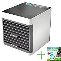 Arctic Air Personal Space Cooler,Mini Air Conditioner,USB Charging Desktop Cooling Fan for Office Home Outdoor Travel+Bikit Guard Repellent