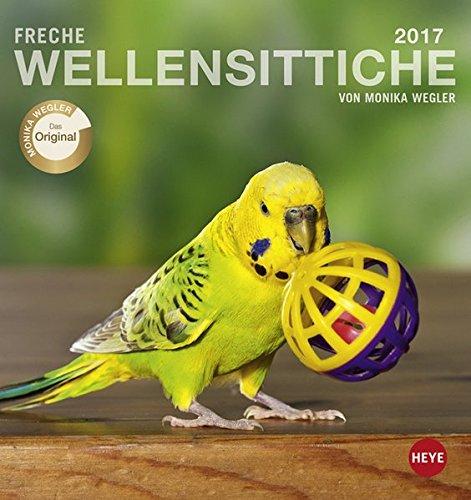 Freche Wellensittiche Postkartenkalender - Kalender 2017