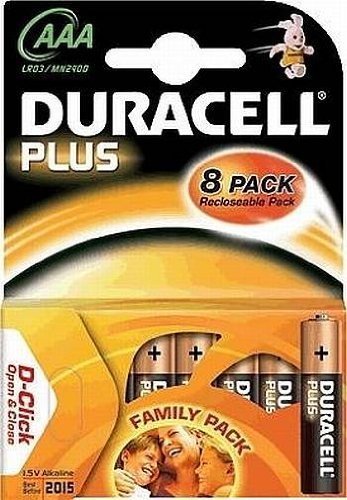 Batterie Duracell Plus Power AAA 1,5 V 8