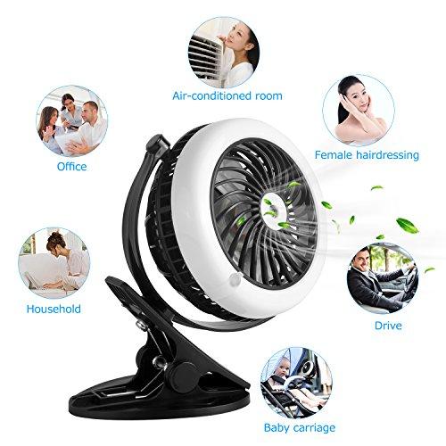 Mini ventilateur usb puissant avec mode brumisateur 360 r glable portable et rechargeable - Ventilateur avec brumisateur ...