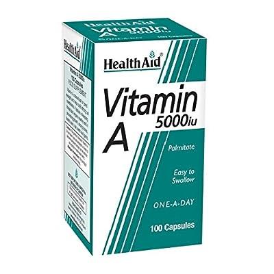 HealthAid Vitamin A 5000iu - 100 Capsules from HealthAid